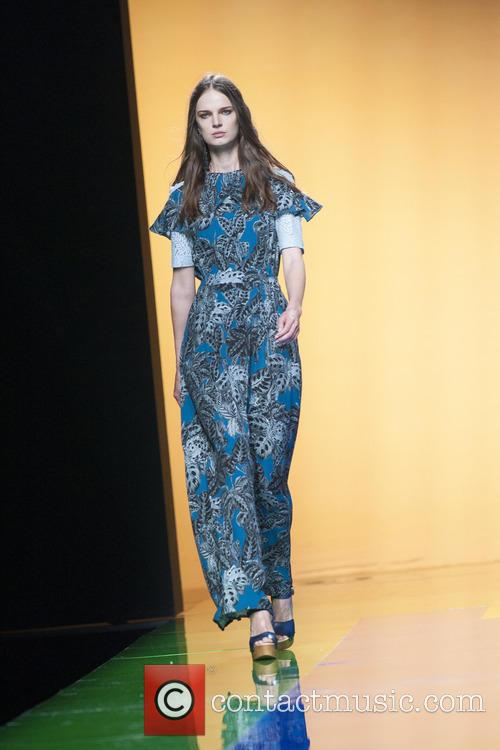 Model - Madrid Fashion Week spring Summer 2016