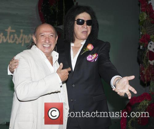 Gene Simmons and Francis Montesino 5