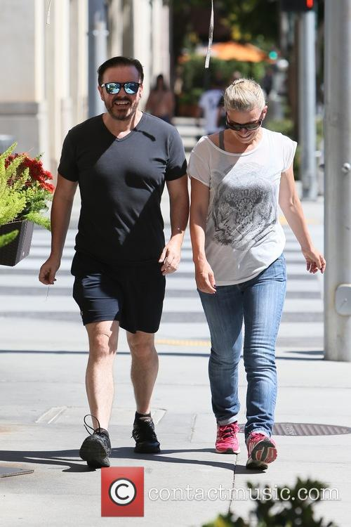 Ricky Gervais and Jane Fallon 6