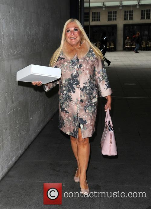 Vanessa Feltz spotted at BBC Radio