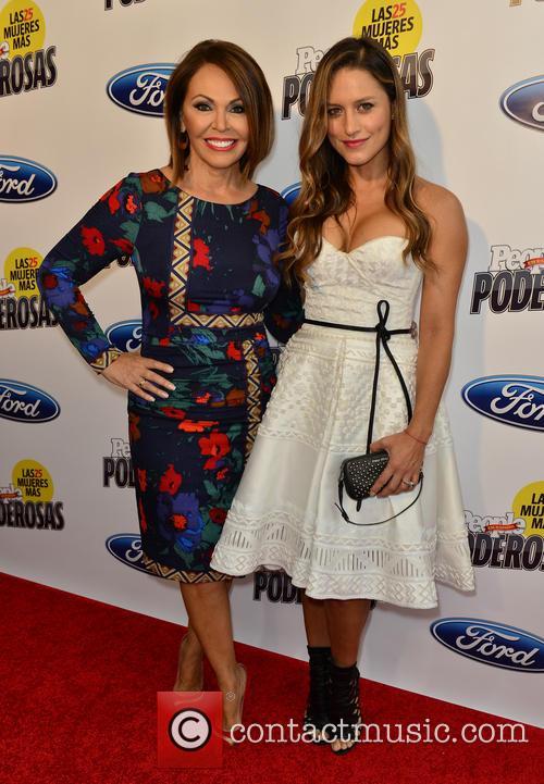 Maria Elena Salinas and Lola Ponce