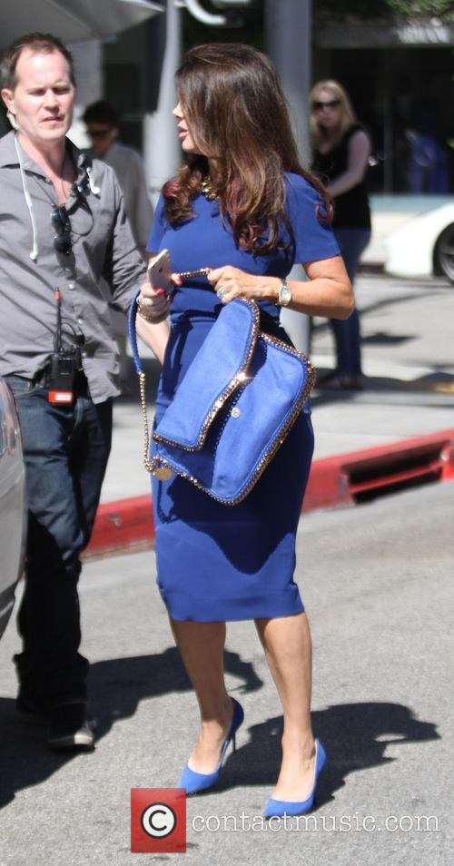 Lisa Vanderpump after filming 'The Real Housewives of...
