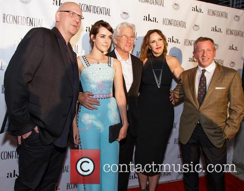 Oren Moverman, Jena Malone, Richard Gere, Alison Miller and Spencer Beck 2