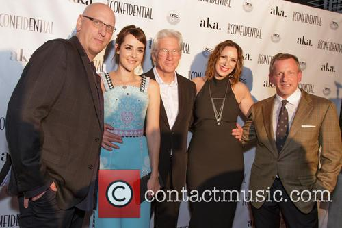 Oren Moverman, Jena Malone, Richard Gere, Alison Miller and Spencer Beck 1