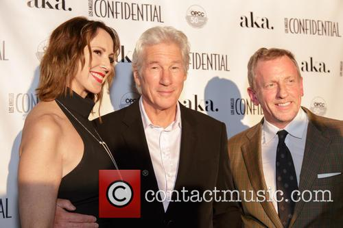 Alison Miller, Richard Gere and Spencer Beck 2