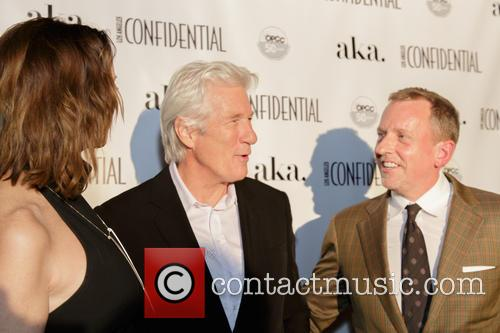 Alison Miller, Richard Gere and Spencer Beck 1