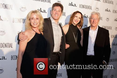 Larry Korman, Alison Miller, Richard Gere and Guest 1