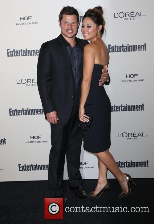 Nick Lachey and Vanessa Lachey 1