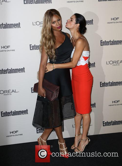 Laverne Cox and Angie Harmon 1