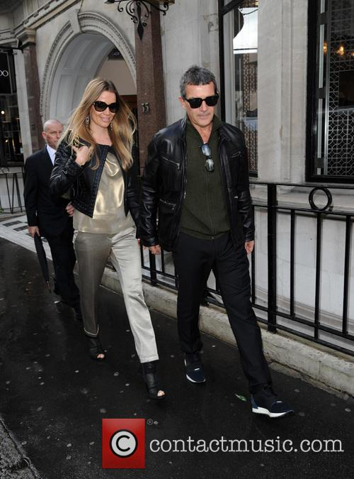 Antonio Banderas and Nicole Kimpel 2