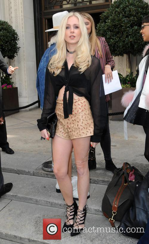 Diana Vickers at LFW