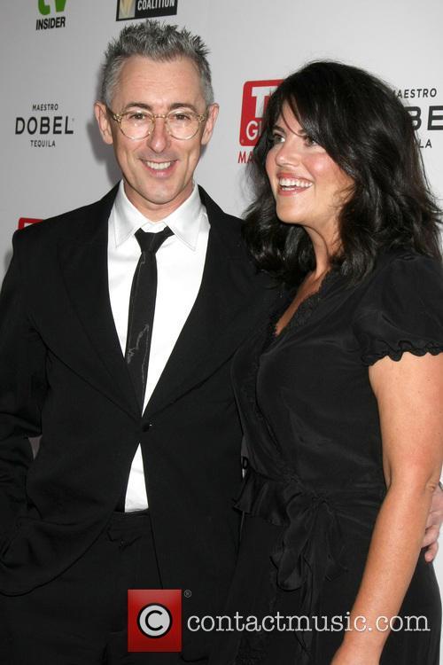 Alan Cumming and Monica Lewinsky 1