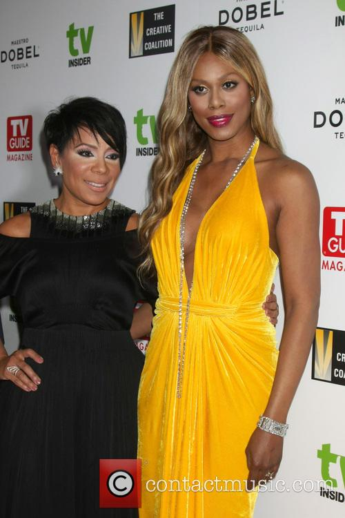 Selenis Leyva and Laverne Cox 1
