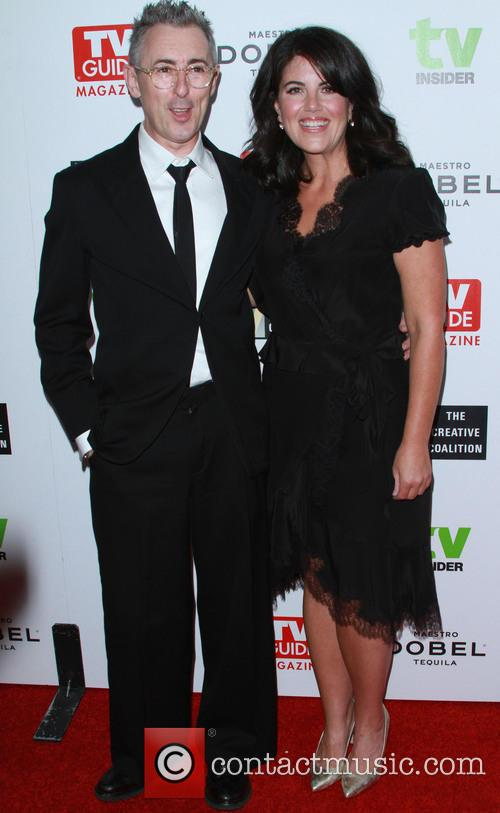 Alan Cumming and Monica Lewinsky
