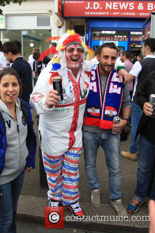 Rugby World Cup 2015 -  England vs...