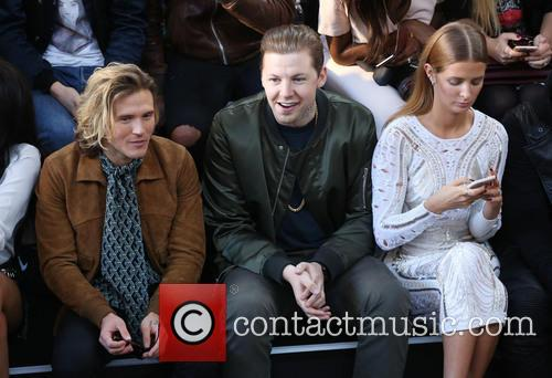 Dougie Poynter, Professor Green and Millie Mackintosh 4