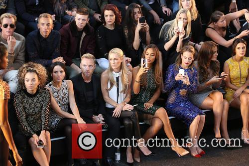 Ella Eyre, Lewi Morgan, Ronan Keating, Storm Uechtritz, Rochelle Humes, Andrea Corr, Rosie Fortescue, Binky Felstead and Lucy Watson 1