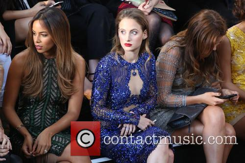 Rochelle Humes and Rosie Fortescue 1