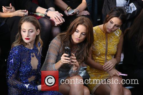 Rosie Fortescue, Binky Felstead and Lucy Watson 1