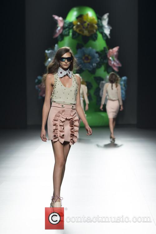 Madrid Fashion Week Spring, Summer, Ana Locking and Catwalk 3