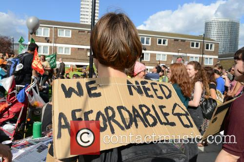 Protestors take to the streets against evictions and...