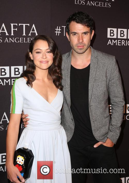 Tatiana Maslany and Tom Cullen 1
