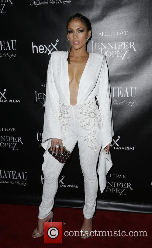 Jennifer Lopez celebrates her Las Vegas Residency at...