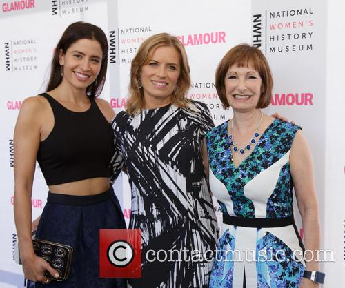 Mercedes Mason, Kim Dickens and Gale Anne Hurd 1