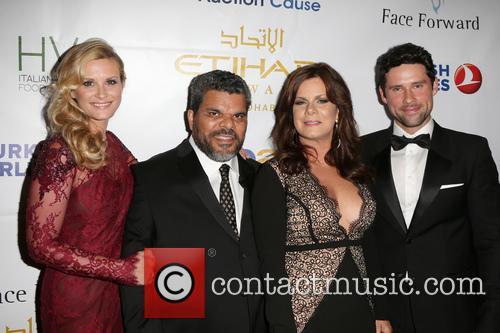 Bonnie Summerville, Luis Guzman, Marcia Gay Harden and Benjamin Hollingsworth 2