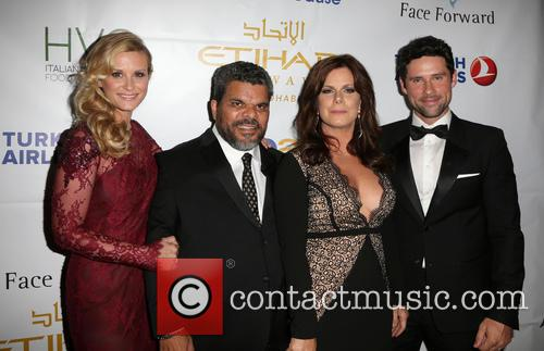Bonnie Summerville, Luis Guzman, Marcia Gay Harden and Benjamin Hollingsworth 3