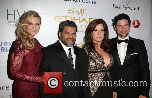 Bonnie Summerville, Luis Guzman, Marcia Gay Harden and Benjamin Hollingsworth 4