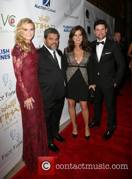 Bonnie Summerville, Luis Guzman, Marcia Gay Harden and Benjamin Hollingsworth 5