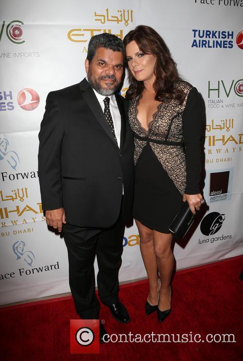 Luis Guzman and Marcia Gay Harden 2