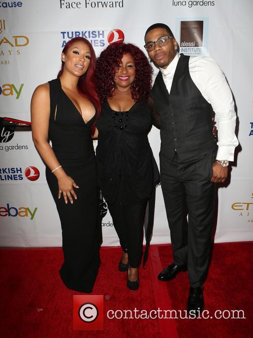 Shantel Jackson, Chaka Khan and Nelly 2