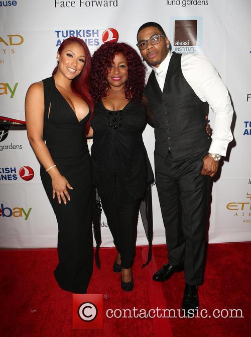 Shantel Jackson, Chaka Khan and Nelly 3