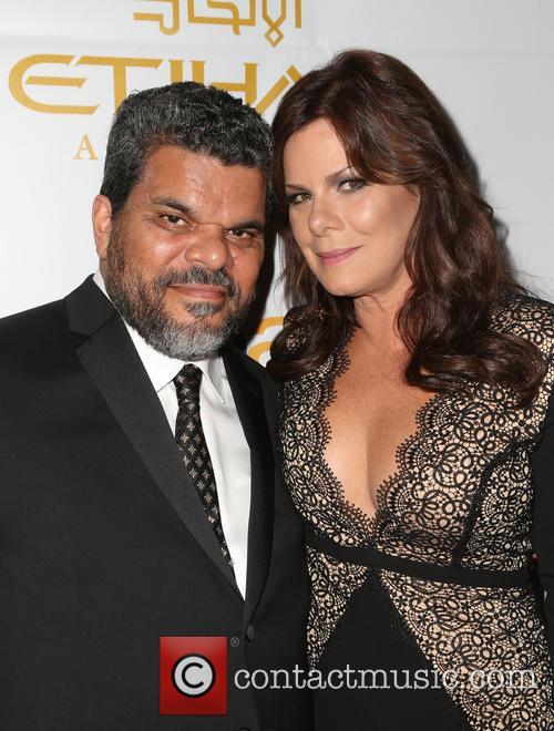 Luis Guzman and Marcia Gay Harden 4