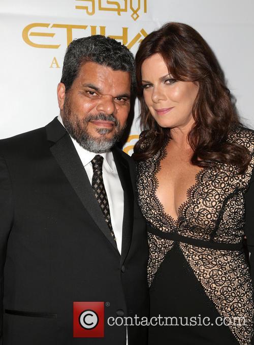 Luis Guzman and Marcia Gay Harden 5