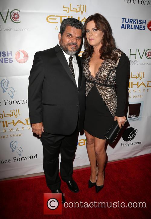 Luis Guzman and Marcia Gay Harden 1