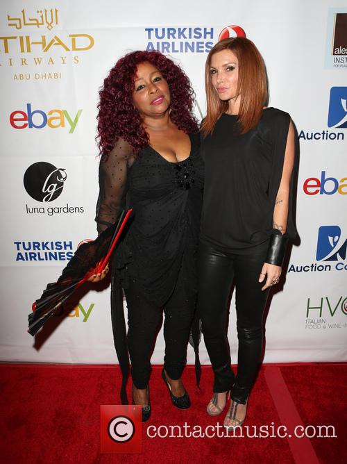 Chaka Khan and Eden Sassoon 2
