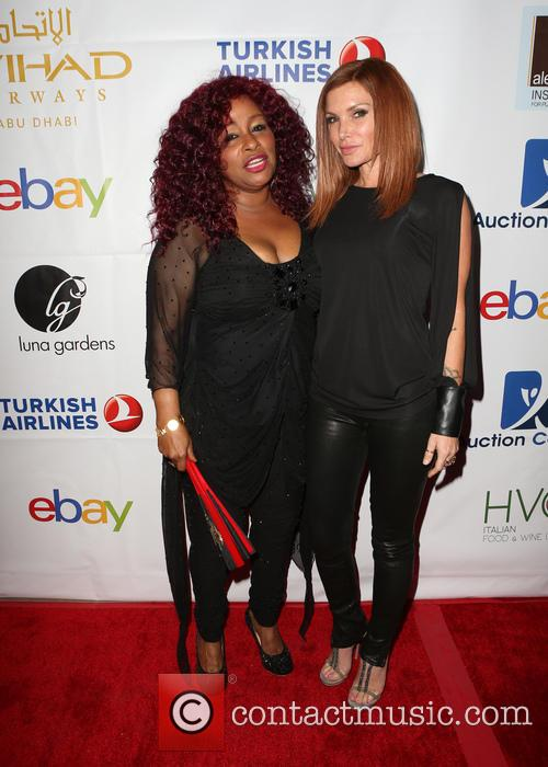 Chaka Khan and Eden Sassoon 3
