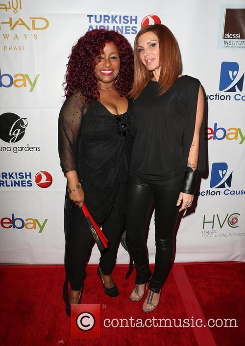 Chaka Khan and Eden Sassoon 6