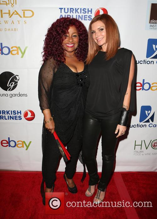 Chaka Khan and Eden Sassoon 7