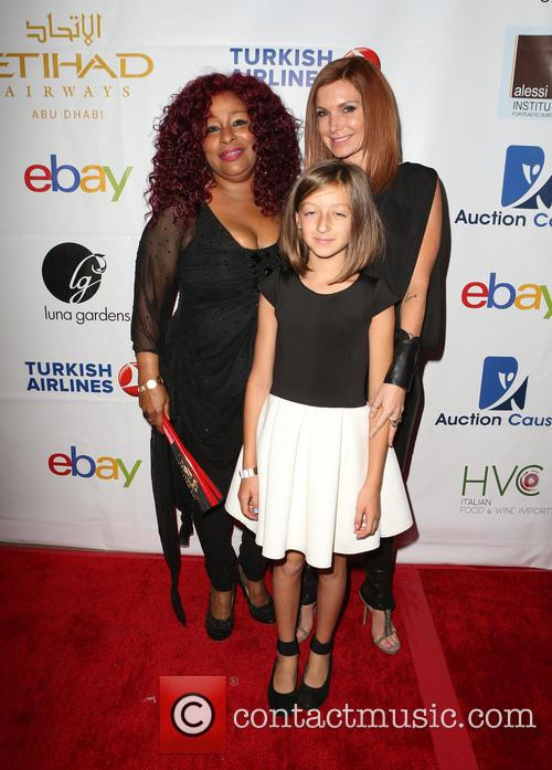 Chaka Khan and Eden Sassoon 1
