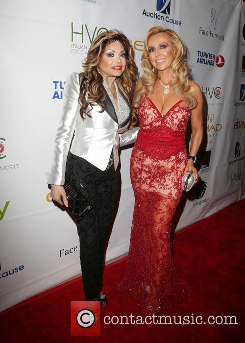 La Toya Jackson and Deborah Alessi 1