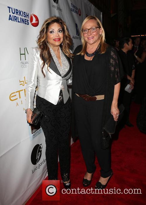 La Toya Jackson and Nicole Sullivan 2