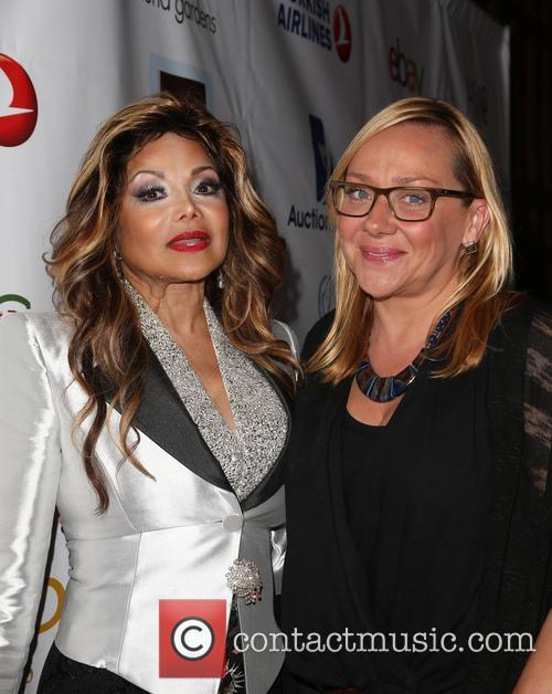 La Toya Jackson and Nicole Sullivan 5