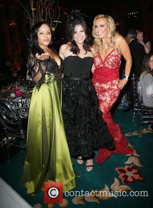 Shantel Jackson, Lana Parrilla and Deborah Alessi 1