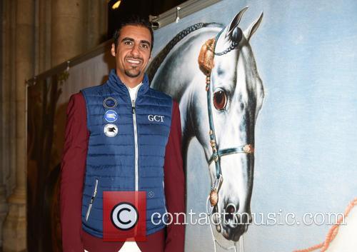 Springsteen and Sheikh Ali Bin Khalid Al Thani 2