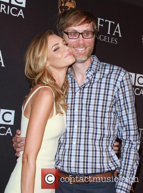 Christine Marzano and Stephen Merchant 1