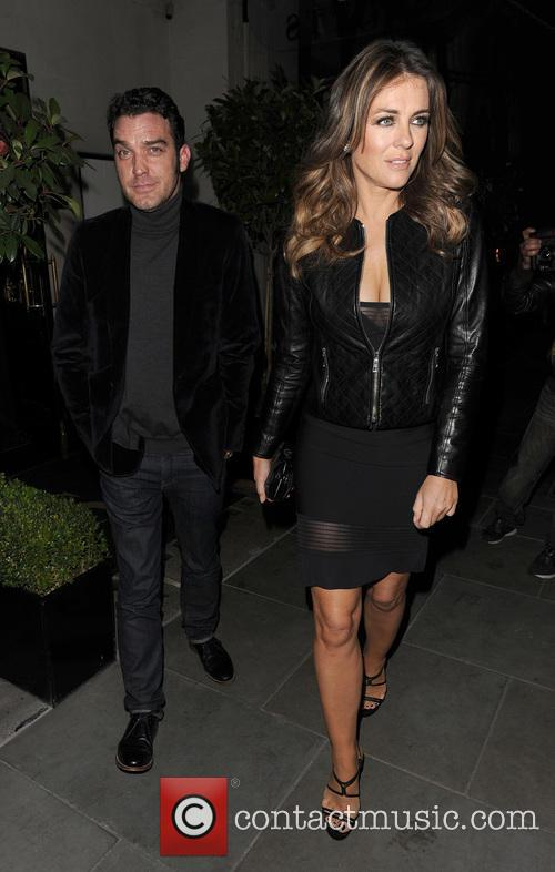 Elizabeth Hurley and Jake Maskall 4